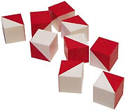 Wechsler blocks (illustrating the 'Blockheads' theme)