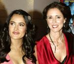 Salma Hayek and Julie Taymor