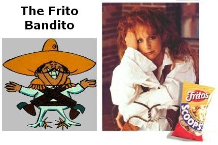 Reba, Fritos, and Bandito