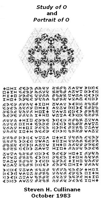 IMAGE- 'Study of O' and 'Portrait of O' (the octahedral group)