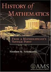 Artemiadis's 'History of Mathematics,' published by the American Mathematical Society