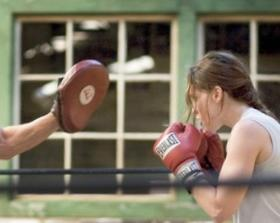 Million Dollar Baby training scene