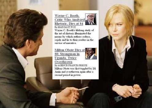 'The Interpreter'-- Sean Penn to Nicole Kidman-- 'My Card.'