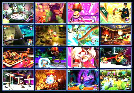 4x4 array of Psychonauts images