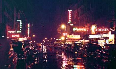 Jazz clubs on 52nd St. in 1948