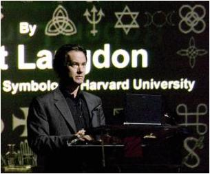 Tom Hanks as Robert Langdon in The Da Vinci Code