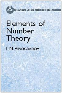 Elements of Number Theory, by Vinogradov