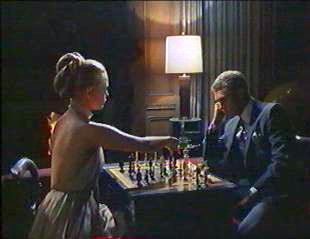 Chess game in The Thomas Crown Affair