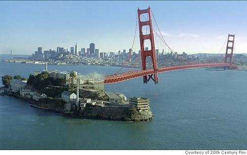 Bridge to Alcatraz ('X-Men: The Last Stand')