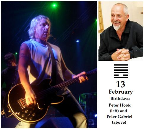 Peter Hook and Peter Gabriel