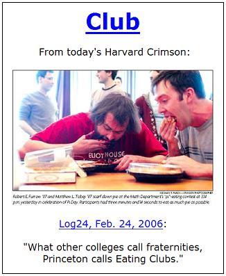 Etiquette at Harvard