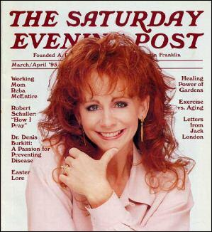 Reba McEntire, Saturday Evening Post, Mar/Apr 1995