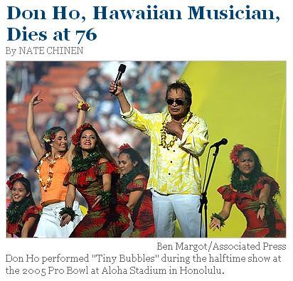 Don Ho Dies