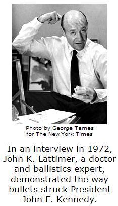 Dr. John K. Lattimer, who died Thursday, May 10, 2007