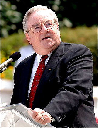 The Rev. Jerry Falwell in Montgomery, 2003