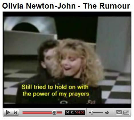 Olivia Newton-John, The Rumour