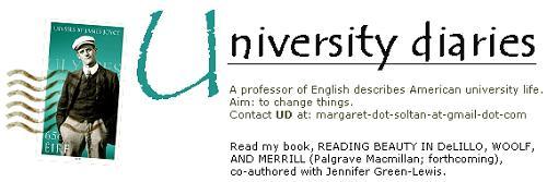 University Diaries masthead