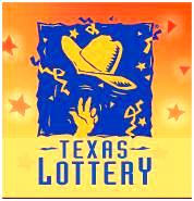 Texas Lottery logo: cowboy hat in air