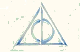 'Deathly Hallows symbol, related to the 'Snakes on a Plane' cartoon.