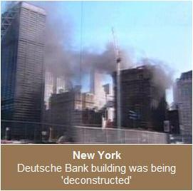 Fire at Deutsche Bank Aug. 18, 2007