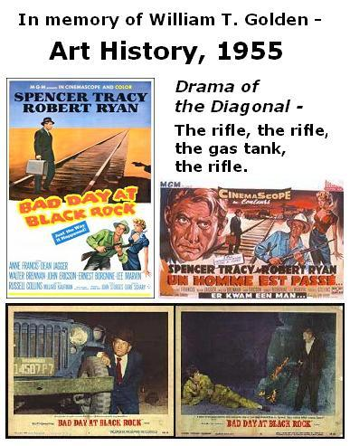 Art History, 1955: Scenes from Bad Day at Black Rock