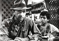 Bogart and Robert Blake in The Treasure of the Sierra Madre