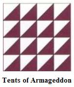Tents of Armageddon quilt design