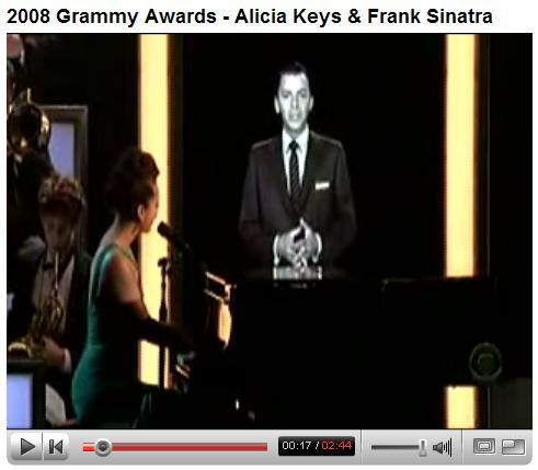 Keys and Sinatra in 'Learnin the Blues'