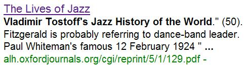 The Lives of Jazz, by Gerald Early: Feb. 12 premiere of Rhapsody in Blue