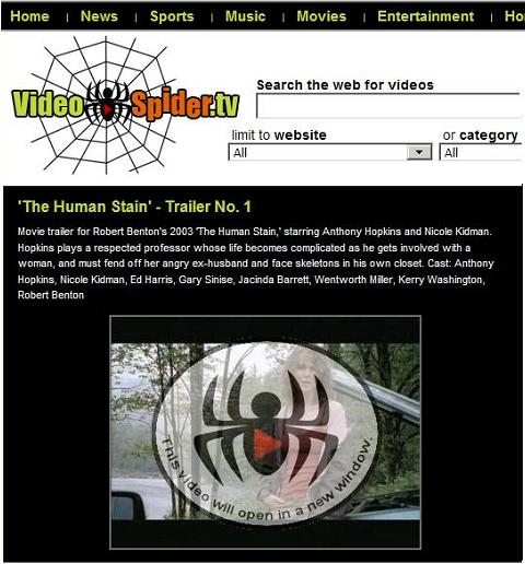 Nicole Kidman in 'The Human Stain' at VideoSpider.tv