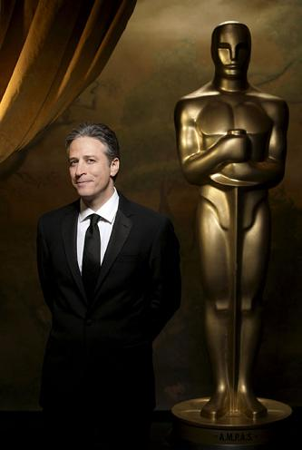 Jon Stewart at the Academy Awards in 2008