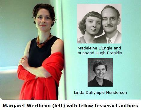 Margaret Wertheim with fellow tesseract authors