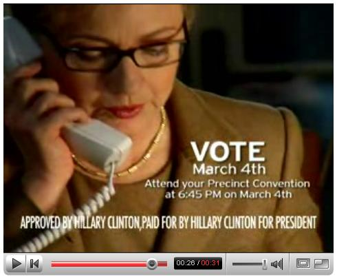'It's 3  AM' Hillary Clinton ad