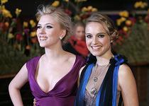 Scarlett Johansson and Natalie Portman