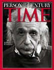 Einstein on TIME cover as 'Man of the Century'
