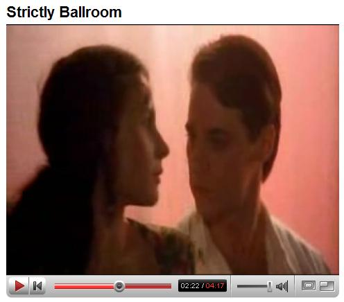 'Strictly Ballroom' video