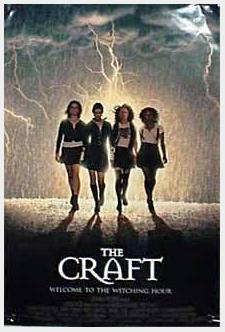 Poster for the film 'The Craft'