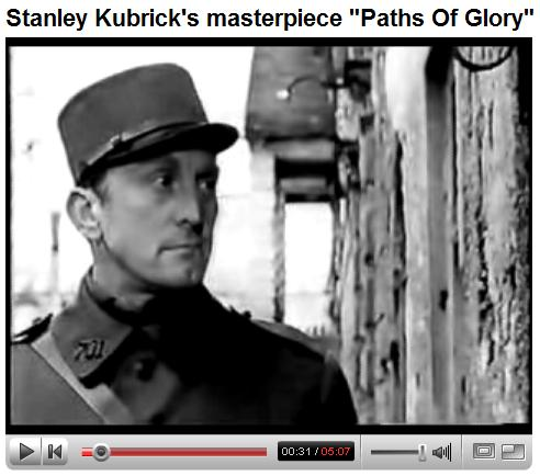 Final scene from 'Paths of Glory'
