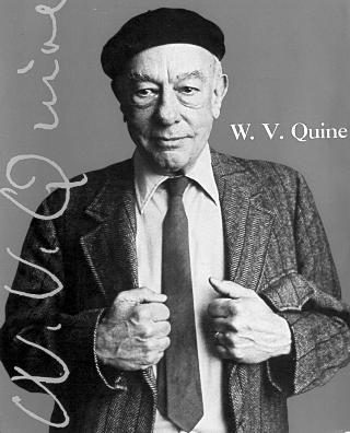 Willard Van Orman Quine, picture from cover of his autobiography