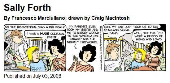 Sally Forth on the Bicentennial and the Starland Vocal Band: 'Well, the mid-70s were a period of highs and lows.'
