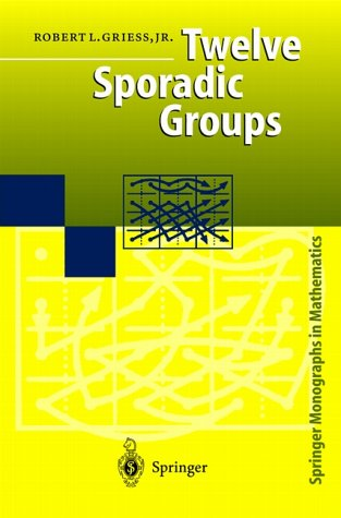 Cover of 'Twelve Sporadic Groups'