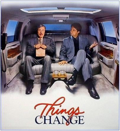 Don Ameche and Joe Mantegna in 'Things Change'