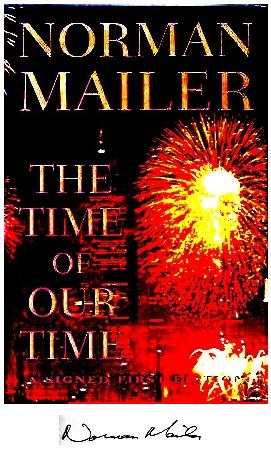 Mailer's 'The Time of Our Time' May 5, 1998, cover with fireworks starburst