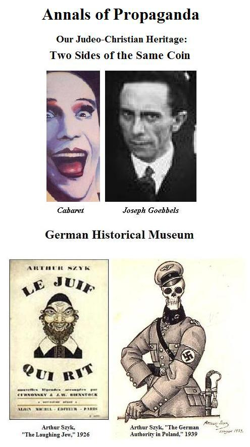 Annals of Propaganda: Cabaret and Goebbels, Arthur Szyk and German Authority