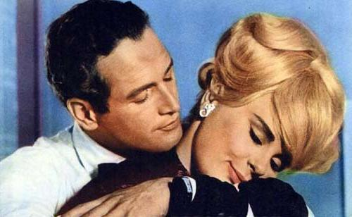 Paul Newman and Elke Sommer in 'The Prize'