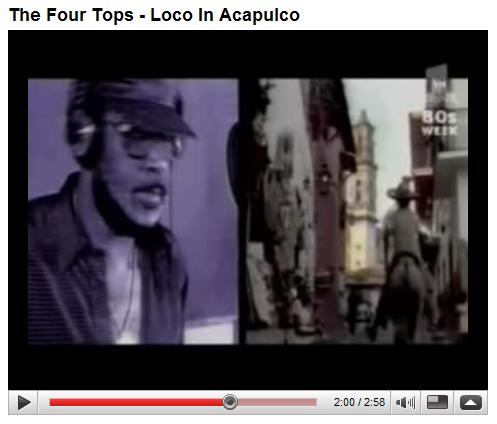 The Four Tops: Goin' Loco Down in Acapulco