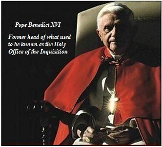 Pope Benedict XVI, formerly the modern equivalent of The Grand Inquisitor
