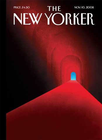 New Yorker cover, issue dated Nov. 10, 2008