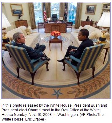 Conversation in the Oval Office