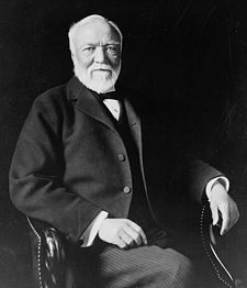 Andrew Carnegie, a founder of United States Steel